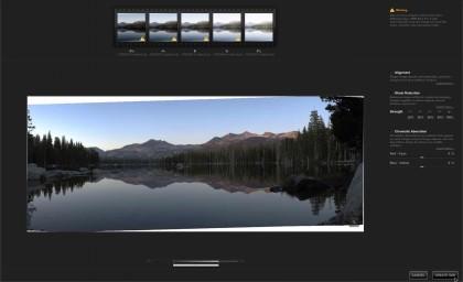 HDR Efex Pro 2 Merge Dialog box