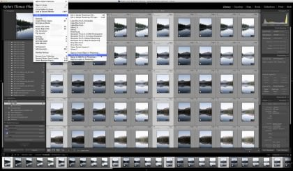 "Lightroom's ""Merge to Panorama in Photoshop"" option"