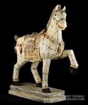 Ivory horse