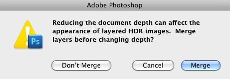 Merge Layers Dialog Box