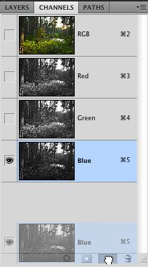 Photoshop Color Channels