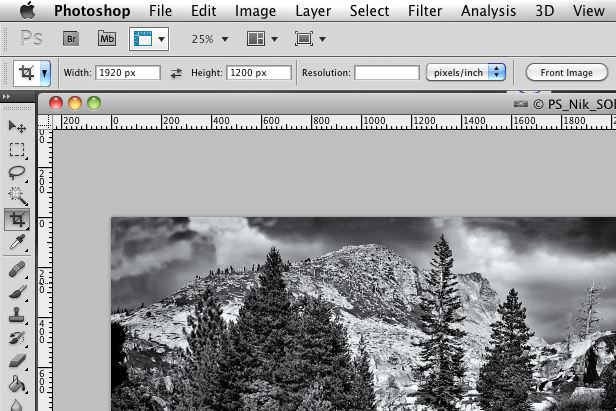 Photoshop Crop Tool Settings