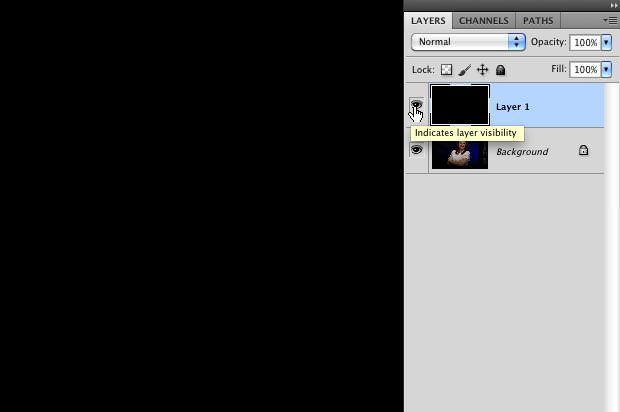 Photoshop Layer Visibility On